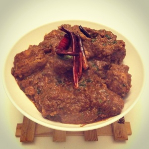 Kolapuri Chicken Curry